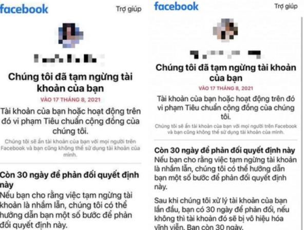 """Khó khôi phục lại tài khoản Facebook bị khoá liên quan đến hình ảnh """"nhạy cảm"""" về trẻ em ảnh 1"""