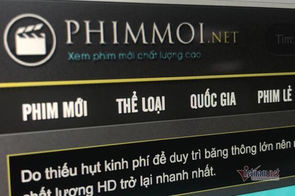 Khởi tố vụ án hình sự liên quan đến website Phimmoi.net ảnh 1