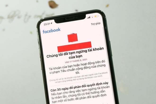 Facebook nói gì về hàng loạt tài khoản người Việt bị khóa vào tuần trước? ảnh 1