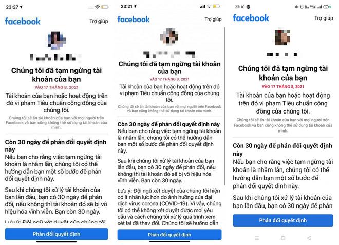 Facebook nói gì về hàng loạt tài khoản người Việt bị khóa vào tuần trước? ảnh 2