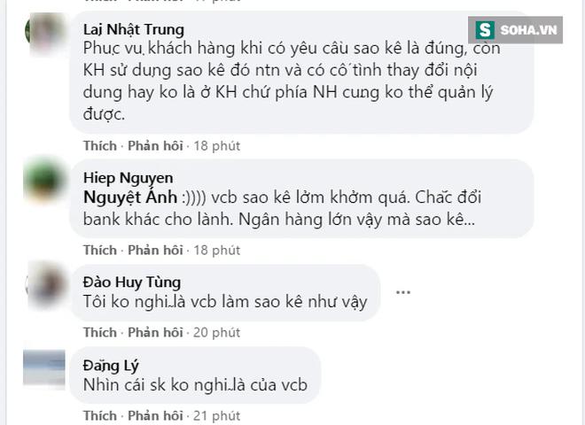 Trấn Thành sao kê tài khoản từ thiện, Fanpage ngân hàng Vietcombank bất ngờ bị 'tấn công' ảnh 3