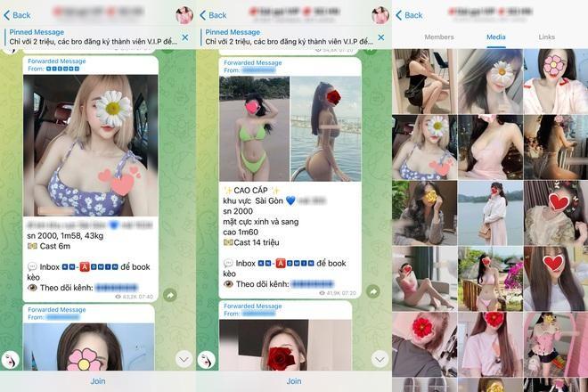 Telegram trở thành ổ chứa mại dâm tại Việt Nam ảnh 2