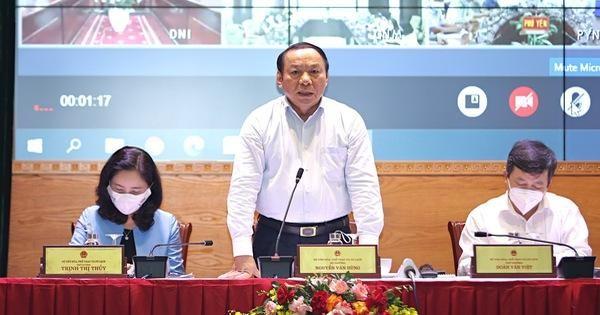 Bộ trưởng Bộ Văn hoá - Thể thao và Du lịch: 'Có làm được không hay chỉ nói theo sách vở?' ảnh 1