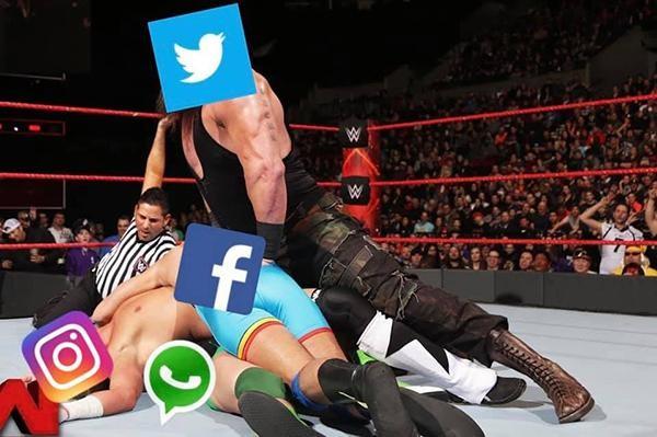 Dân mạng đua nhau chế ảnh về sự cố 'mất mặt' của Facebook ảnh 1