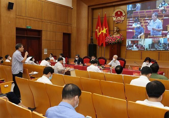 TBT Nguyễn Phú Trọng: Hà Nội phải dẫn đầu, xứng đáng Thủ đô anh hùng của dân tộc Việt Nam anh hùng ảnh 2