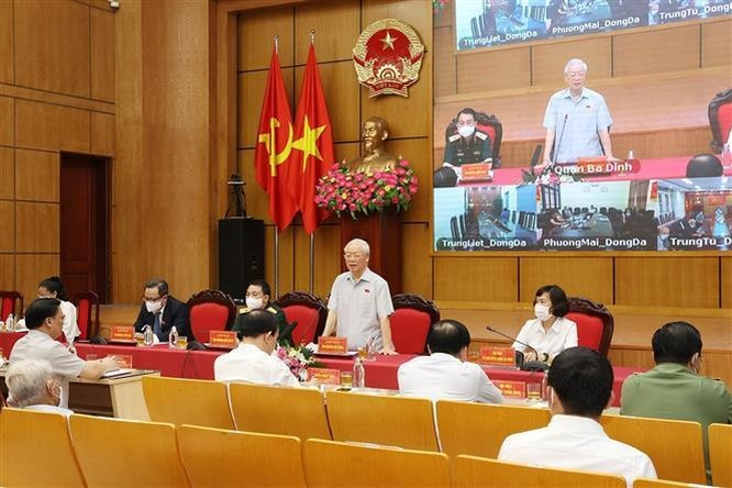 TBT Nguyễn Phú Trọng: Hà Nội phải dẫn đầu, xứng đáng Thủ đô anh hùng của dân tộc Việt Nam anh hùng ảnh 3