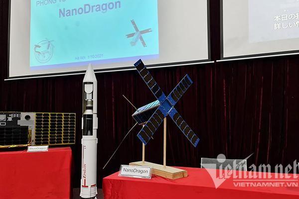Nhật giải thích lý do vệ tinh NanoDragon của Việt Nam chưa thể phóng lên vũ trụ ảnh 1