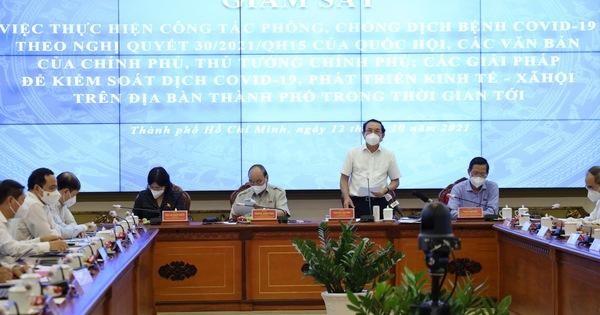 Bí thư Nguyễn Văn Nên: TP đã áp dụng biện pháp khẩn cấp nhưng không tuyên bố 'tình trạng khẩn cấp' ảnh 1