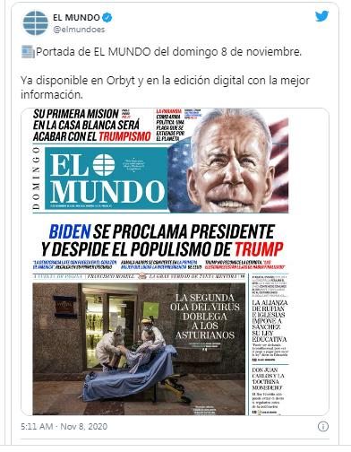 Báo chí quốc tế bàn tán rôm rả về chiến thắng của Biden ảnh 5