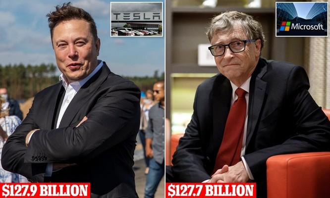 Elon Musk vượt Bill Gates trở thành tỉ phú giàu thứ hai thế giới ảnh 1