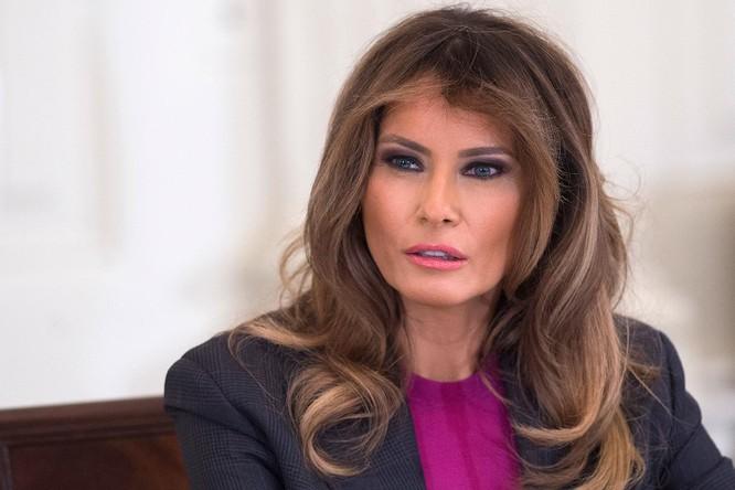 Bà Melania Trump chia sẻ thông điệp chia tay trên mạng xã hội ảnh 1