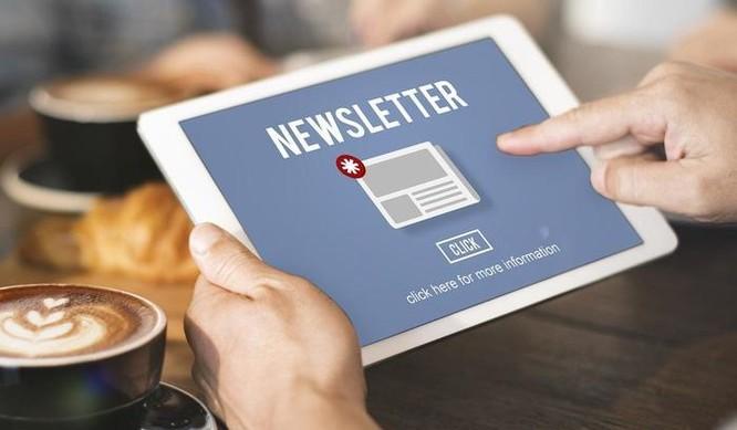 Báo chí khai thác bản tin email - tìm kiếm điều mới từ một nền tảng cũ ảnh 1