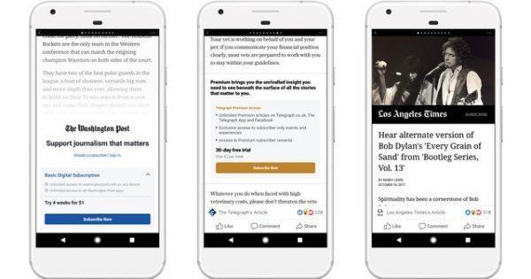 """Tính năng đọc báo nhanh của Facebook - """"giải pháp toàn năng"""" dành cho báo chí ảnh 1"""