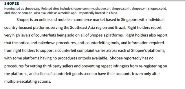 Shopee bị liệt vào danh sách đen của Văn phòng Đại diện Thương mại Mỹ ảnh 1