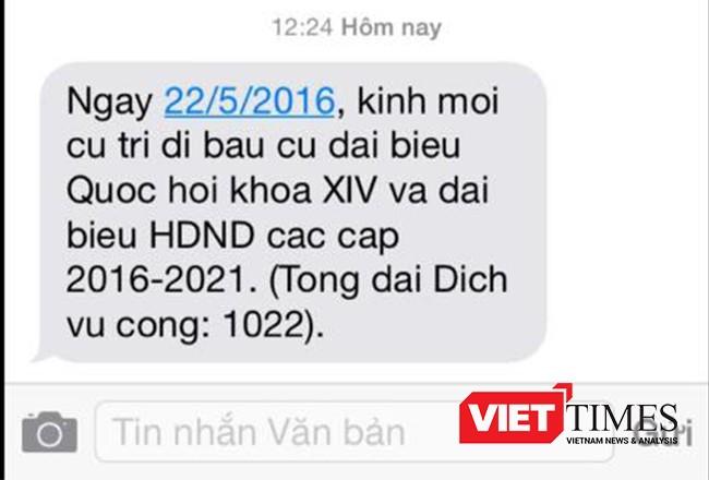 Bầu cử, Đà Nẵng, Quốc hội, HĐND, cử tri, VietTimes
