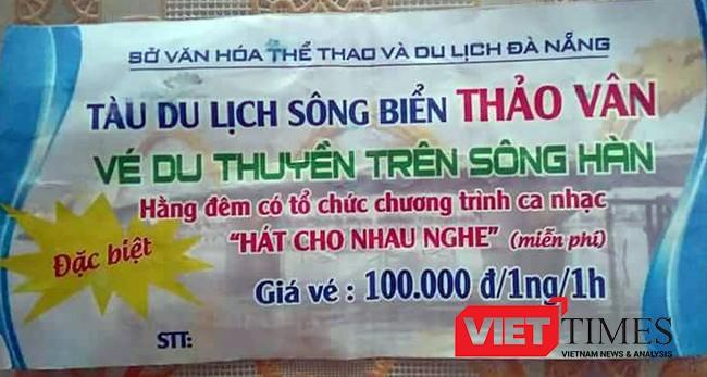 Thảo Vân 02, Đà Nẵng, chìm tàu, trên sông Hàn, thảm nạn, VietTimes