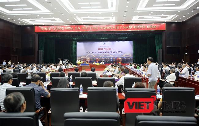 Đà Nẵng, Bí thư Thành ủy, Nguyễn Xuân Anh, đối thoại, quan chức, VietTimes