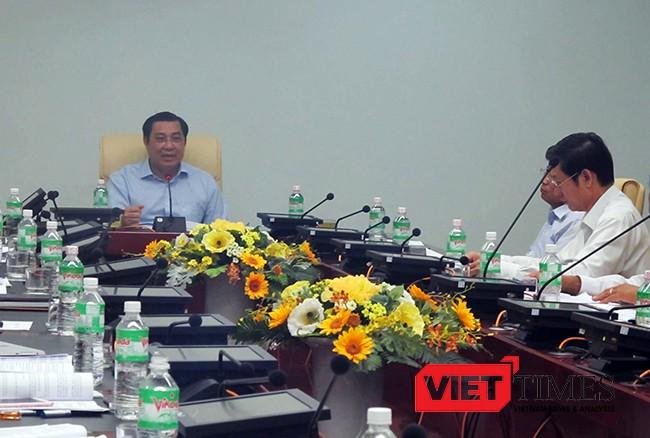 Đà Nẵng, âu thuyền, Thọ Quang, ô nhiễm, xả thải, Chủ tịch, Huỳnh Đức Thơ, VietTimes