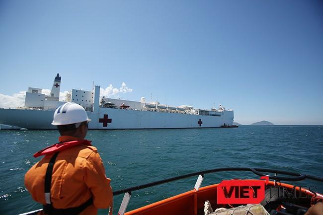 Đà Nẵng, 1.300 sĩ quan, thủy thủ, Mỹ, Nhật, Úc, Anh, Newzealand, Đối tác Thái Bình Dương, PP16. Hạm đội, tàu y tế, VietTimes
