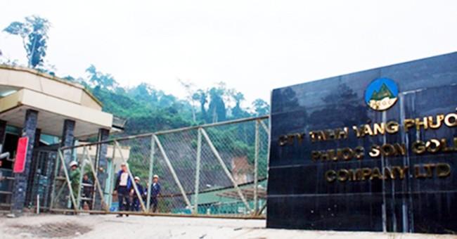 Đại gia vàng, Besra, Bồng Miêu, Phước Sơn, nợ thuế, chây ì, Quảng Nam, VietTimes