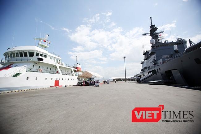 Đà Nẵng, chiến hạm, Hải quân, Nhật Bản, Mỹ, JSDS Shimokita, LST-4002, Tiên Sa, VietTimes