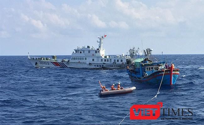 Đà Nẵng, biên phòng, xâm hại, lãnh hải, tàu Trung Quốc, ngư dân, VietTimes