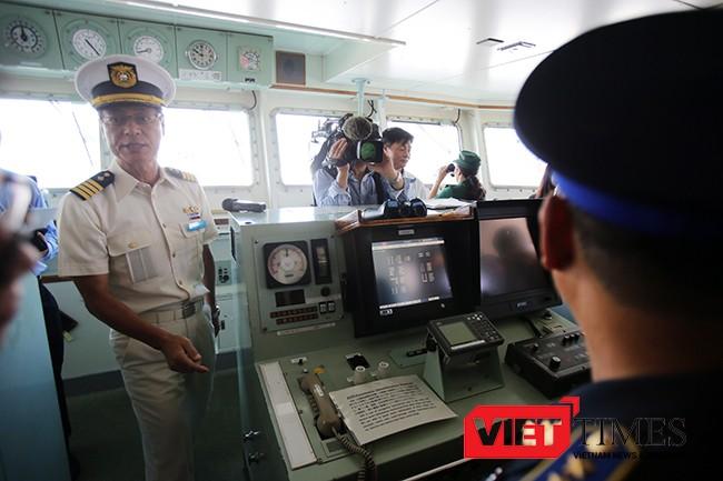 Đà Nẵng, Cảnh sát biển, Nhật Bản, Cảng Tiên Sa, Ngoại vụ, KOJIMA, PL 21, VietTimes