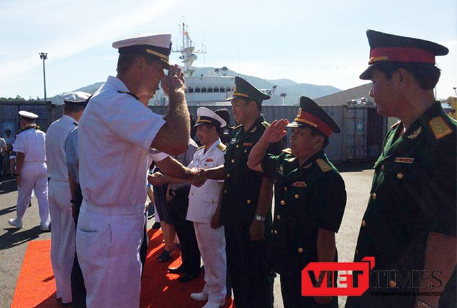 Đà Nẵng, đối tác Thái Bình Dương, Pacific Partnership, PP16, hải quân Mỹ, Nhật Bản, Mercy, VietTimes