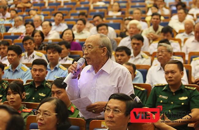 Đà Nẵng, Đinh Thế Huynh, tiếp xúc cử tri, địa biểu, Quốc Hội, Fomosa, xử lý, VietTimes