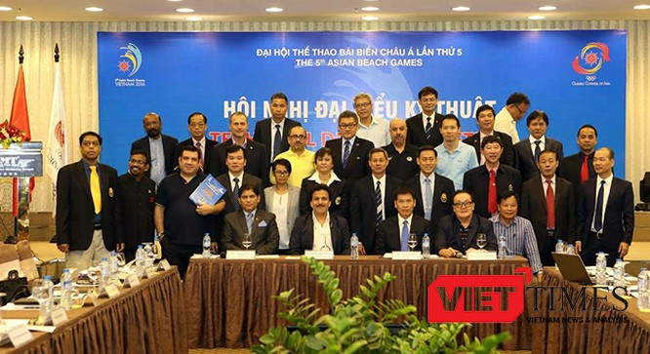 Đà Nẵng, đại hội, thể thao biển, Châu Á, ABG 5, thi đấu, VietTimes