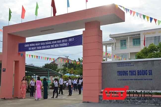Đà Nẵng, Hoàng Sa, Khai giảng, năm học mới, VietTimes