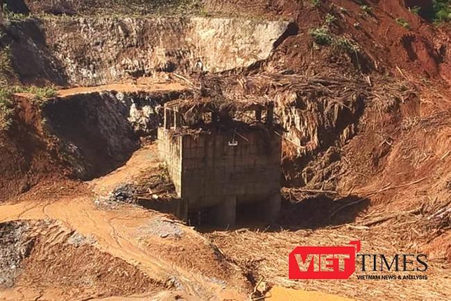 Quảng Nam, thủy điện, Sông Bung 2, sự cố, mất tích, cuốn trôi, điện lực, VietTimes