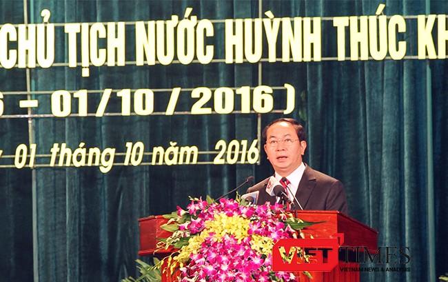 Quảng Nam, kỷ niệm, Chủ tịch nước, Cụ Huỳnh, Huỳnh Thúc Kháng, VietTimes