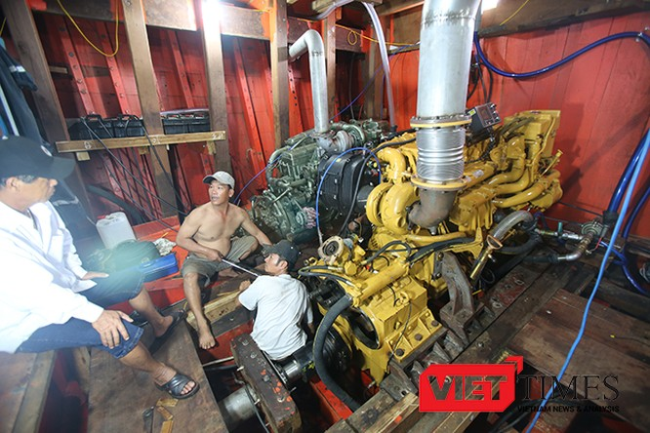 Đà Nẵng, ngư dân, tàu cá, vỏ thép, vỏ gỗ, đóng tàu, ngán, VietTimes