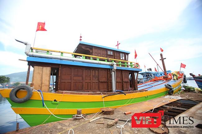 Đà Nẵng, tàu cá, khủng, ngư dân, ĐNa 90685 TS, Lê Văn Khánh, VietTimes