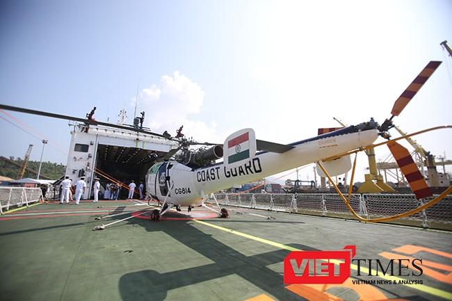 cảnh sát biển, tuần tra bờ biển, Ấn Độ, đến Đà Nẵng, máy bay, chiến hạm, khu trục, VietTimes