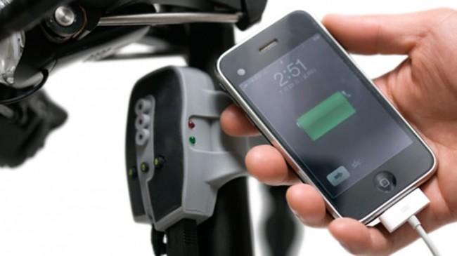 Bạn có thể sử dụng năng lượng tạo ra từ hoạt động lái xe để sạc pin cho các thiết bị di động