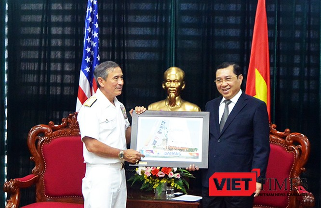 Tướng 4 sao, Hải quân Mỹ,Đô đốc, Harry B. Harris Jr., Đà Nẵng, Bộ Tư lệnh Thái Bình Dương , VietTimes