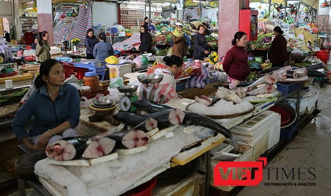 thực phẩm, chợ, nguồn gốc, xuất xử, an toàn vệ sinh, kiêm tra, xử lý nghiêm, rút phép, Đà Nẵng, VietTimes