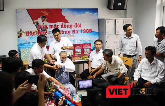 Đà Nẵng, Gạc Ma, cựu binh, Dương Văn Dũng, Trường Sa, hội ngộ, VietTimes
