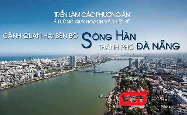 UBND TP Đà Nẵng, công bố, trao giải, Cuộc thi, Ý tưởng quy hoạch, thiết kế cảnh quan, hai bên bờ sông Hàn, VietTimes