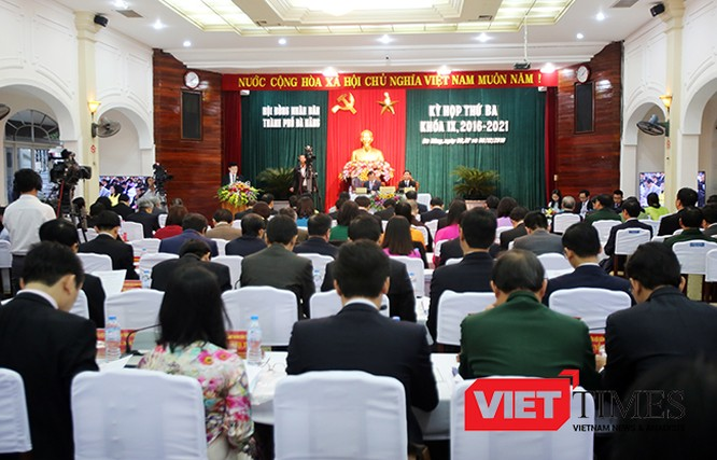 Kỳ họp thứ 3, HĐND TP Đà Nẵng, khóa IX, nhiệm kỳ 2016-2021, khai mạc, Bí thư, Nguyễn Xuân Anh, VietTimes