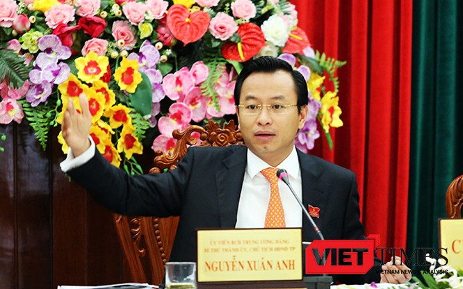 Bí thư Thành ủy, Chủ tịch HĐND TP.Đà Nẵng Nguyễn Xuân Anh