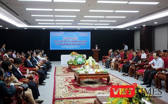 Đà Nẵng, Lâm Đồng, bắt tay, chuỗi cung ứng, nông sản sạch, thực phẩm, an toàn, VietTimes