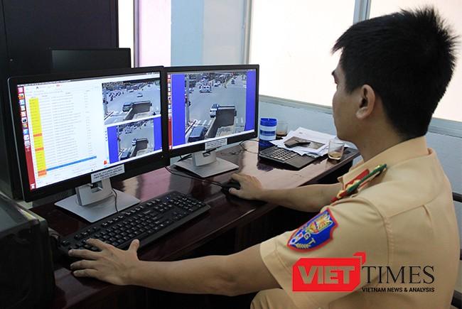 Đà Nẵng, xử phạt, vi phạm luật giao thông, CSGT, camera an ninh, VietTimes