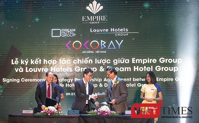 VietTimes, Tập đoàn quản lý khách sạn, Dream Hotel Group, Mỹ, Louvre Hotels Group, Pháp, Đà Nẵng, Empire Group, Cocobay