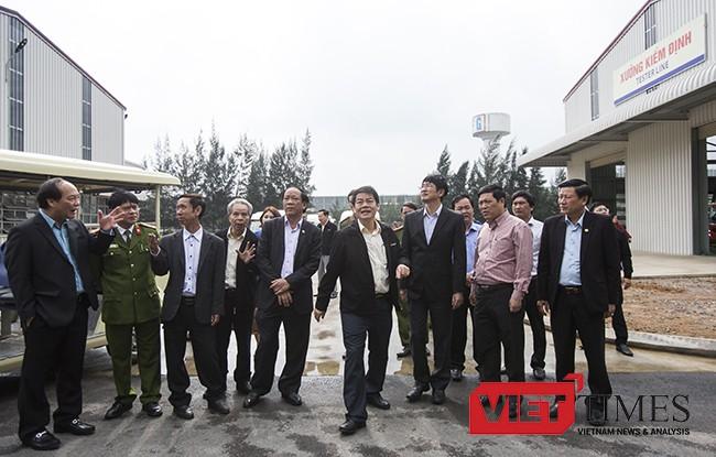 VietTimes, Vụ cháy, Nhà máy, Thaco Bus, thiệt hại, 250 tỷ đồng, khắc phục, Quảng Nam, Họp báo