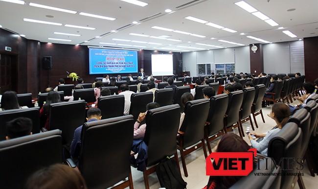 VietTimes, họp báo, định kỳ, UBND TP, Bí thư Thành ủy, Đà Nẵng, Nguyễn Xuân Anh, báo chí, chỉ đạo