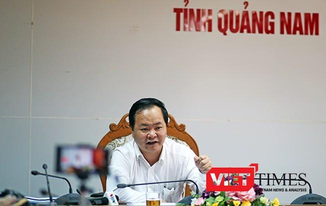 trộm cát, biển Cửa Đại, Hội An, bán chui, dự án Đa Phước, Đà Nẵng, Quảng Nam, Chánh văn phòng, VietTimes