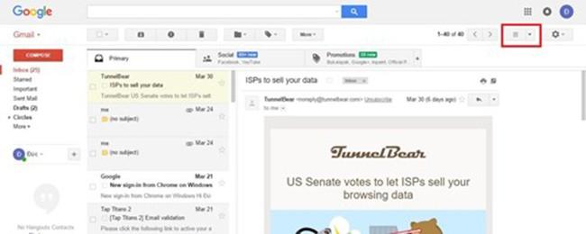 GMail, Google, thủ thuật Gmail, VietTimes